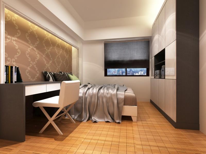 幸福路-蔡公馆 - 3d透视图 - 作品赏析 - 室内设计